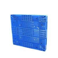 Quality Single Faced HDPE Plastic Pallets / Blue Plastic Pallets 1000kgs 1500kgs 2000kgs Loading for sale