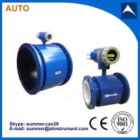 Quality Digital Industrial Liquid Electromagnetic Flow Meter 4-20mA output for sale