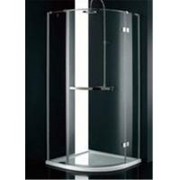 Quality Stainless Steel Frame Glass Bathroom Shower Enclosures , B&Q Shower Cubicles For Home for sale