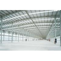 Quality Welded Prefab Steel Structures With Stainless Steel Windows H Section for sale