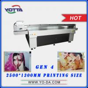 Made in China and Turkey Market Popular Digital Inkjet 3D Glass UV Printer 3d Glass Printing Machine Price