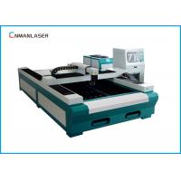 Quality Fiber Laser Metal Cutting Machine 1500*3000 mm Water Cooling 500w  1000w for sale