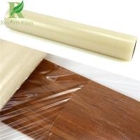 Quality 0.03-0.2mm Clear Transparent Adhesive Film for Wood Protection Guard Against Damages for sale