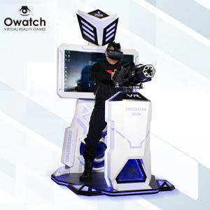 Quality Owatch-360 Shooting Gun Htc Vive Glasses Game Machine vr arcade game standing battle gun shooting virtual reality for sale