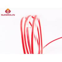 Quality Waterproof plastic TPU / PVC coated piping trim for furniture, tents for sale