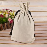 Quality Handled Reusable Cotton Shopping Bags Gift Jute Small Cotton Drawstring Bags for sale