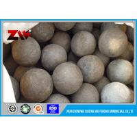 Quality 94mm hot rolled forged grinding media steel balls For Mining / Cement Plant for sale