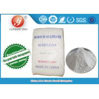 Quality High Bright Industrial Grade Super Fine Barium Sulphate For Paint CAS 7727-43-7 for sale