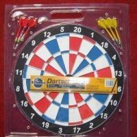 China Paper Dartboard with EN71 Mark, Measures 15 x 1/2-inch on sale