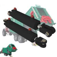 Quality 18 - 200mm Rod Garbage Truck Hydraulic Cylinders For Solid Waste Equipment for sale