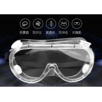 Quality Transmittanable Custom Safety Goggles , Anti Fog Health And Safety Goggles for sale