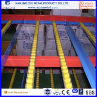 Quality Q235 Warehouse Storage Carton Flow Racking for Logistics / Assembly System for sale