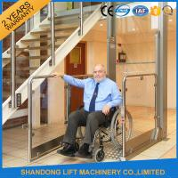 Quality Wheelchair Hydraulic Platform Lift with Powder Coating Stainless Steel / Aluminum Alloy Material for sale