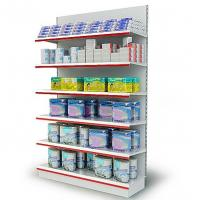 Quality 80 - 150kgs / Layer Shelf For Convenience Store , Supermarket Equipment , 6 Tier for sale