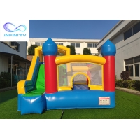 China Commercial Grade Kids Parties Inflatable Bouncy Castle With Slide For Outdoor on sale