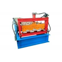 Quality Diameter 95mm Floor Deck Roll Forming Machine Russian / European Style Pump Power 15kw for sale