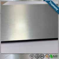 Quality Custom Color Stainless Steel Composite Panel Brushed Fireproof A2 Core for sale