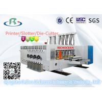 Quality Multicolors Automatic Flexo Printing Slotting Die Cutting Machine for sale