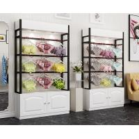 Quality Colorful Underwear Clothing Display Racks With Cabinet 1200*400*2000mm for sale