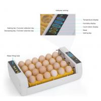 Quality Industrial Auto 96 Egg Incubator Easy Cleaning With Electronic Thermostat for sale