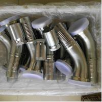 Buy cheap Carbon steel hydraulic fittings / stainless steel hydraulic fittings/ hose from wholesalers