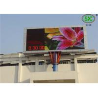 Buy cheap Outdoor P6 Commercial RGB Led display  Led Video Screen water proof cabinet from Wholesalers