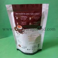 Quality coffee bags producer, stand up coffee bags with zipper, reclosable and with one-way valve, highest quality, lowest price for sale