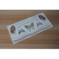 Quality Stock wholesales metallic tattoo designs M-T014 for sale