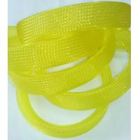 Quality UL ROHS Flexo Pet Expandable Braided Cable Sleeving  For Protecting Harness for sale