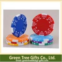 Quality 10g 39x3mm Custom Clay Pokerchips with reasonable price and good quality for sale
