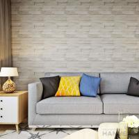 Quality 3D Brick Effect Contemporary Style Vinyl Wall Covering 0.53*10M for sale