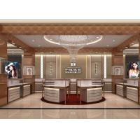 Quality Modular Island Jewelry Retail Glass Display Cases / Jewelry Store Display Cases for sale