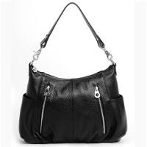 Quality Offer Medium Size Soft Leather Shoulder Bags with Vintage Design for sale