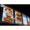 Buy cheap Advertisement Crystal LED Menu Board , Backlit Menu Board Light Box 24 x 36 from wholesalers