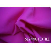 Quality Solid Plain Colors Nylon Elastane Fabric , 152cm Width Nylon Fabric For Bags for sale