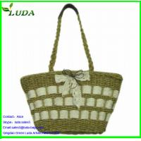 Quality 2014 LUDA Best Sequin Selling Straw Bags for sale