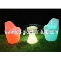 Quality Saving Battery operated Waterproof glowing bar LED Chair / stools for garden , party for sale