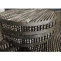 China High Flux Metal Tower Packing Anti Blocking Ability Gas Liquid Distribution on sale
