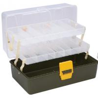 Buy cheap Pseudo-bait Box/Fishing Tool Box double slides 330*178*140mm material PP Model no. XYZ456 from Wholesalers