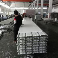 Quality 10.35 meters 30mm PVC eps sandwich roof panels used for fast asemble warehouse for sale