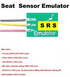 Quality SRS6 Mercedes Seat Sensor Emulator , Car Repair Troubleshooting for Mercedes Benz for sale