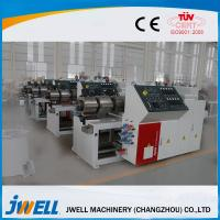 Quality Strong Stiffness WPC Extrusion Line , Wpc Profile Extrusion Line High Rigidity for sale