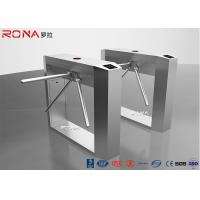 Buy cheap Indoor/Outdoor Automatic RFID LED Ditector Half Height Stainsteel Gate Turnstile Electric Tripod Turnstile from wholesalers