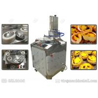 Buy Customized Egg Tart Making Machine Stainless Steel Single Phase With Tart Shell at wholesale prices