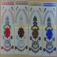 Quality 2015 Wholesale high quality temperary flash tattoo gold silver jewelry temporary tattoo for sale