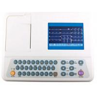 China Digital ECG Machine 5 inch ECG Monitoring System with Rechargeable Li-ion Battery on sale