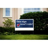 Quality 100% virgin pp grade A pp corrugated board digital Printed Corflute Signs / Yard signs / billboards / Real Estate Signs for sale