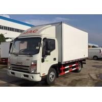 Quality Dongfeng 5 Tons Refrigerated Van Truck , Mobile Cold Room Truck For Fruits / Seafood for sale