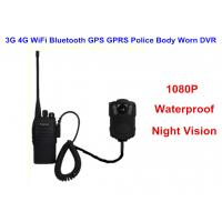 Buy Wearable IP68 Law Enforcement Body Camera For Security Officers , ABS Material at wholesale prices