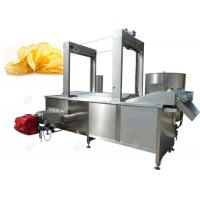 Quality Oil - Water Mixed Peanut Potato Chip Fryer Equipment Stainless Steel 3500*1200*2400mm for sale